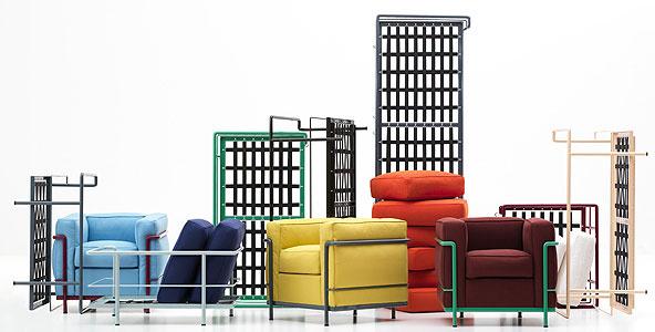 Ilyen amikor Le Corbusier beleveti magát a bútortervezésbe.