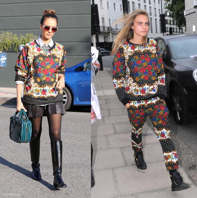 Jessica Alba és Cara Delevingne is megkívánta a mintákat.