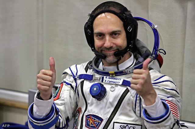 Richard Garriott 2008-ban, mielőtt az űrbe utazott volna Bajkonúrból