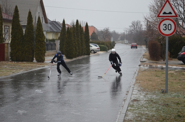A jégkorongblog.hu reggeli fotója Győrből