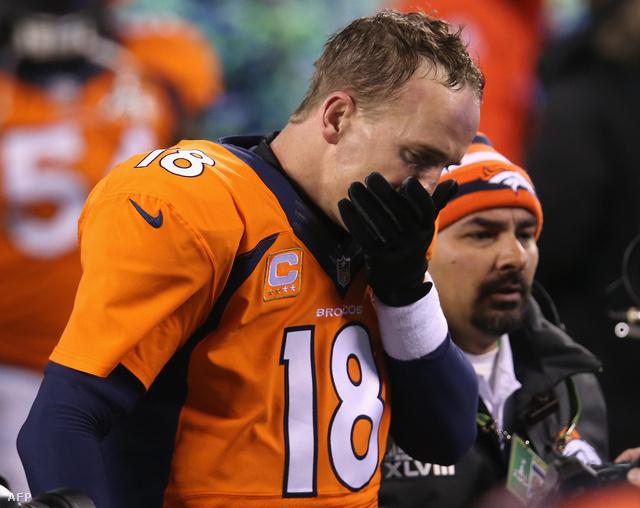 Manningnek szörnyű mecccse volt