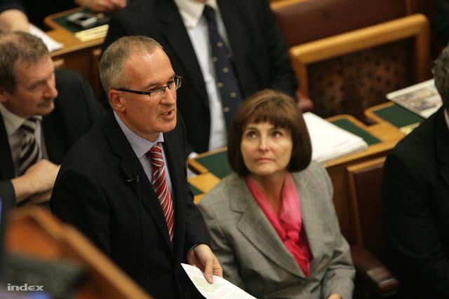 Simon Gábor a Parlamentben
