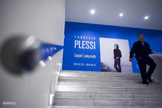 Fabrizio Plessi Liquid Labyrinth című kiállítása nyílt meg a budapesti Ludwig Múzeumban, 2014 január 30-án.                          Ez egykori vasfüggönyön túl ez az első önálló kiállítás az olasz művésznek.