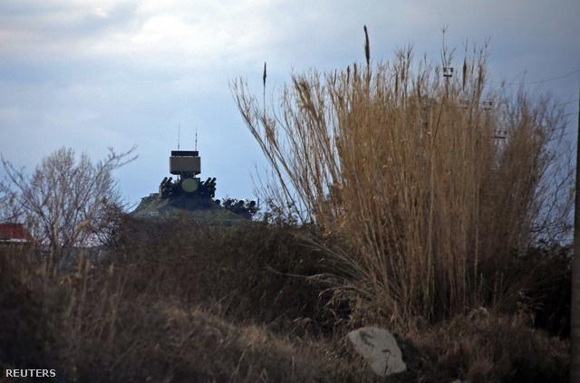 Légvédelmi rakéták az olimpiai falu mellett
