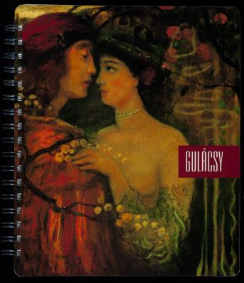 Gulácsy Lajos képének részletével borított füzet 1500.-