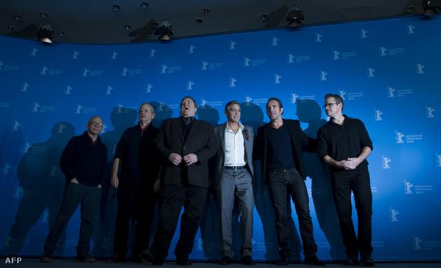 Bob Balaban, Bill Murray, John Goodman, George Clooney, Jean Dujardin és Matt Damon