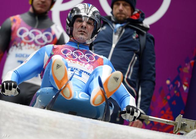 Armin Zöggeler történelmet írt bronzérmével: eddig senkinek nem sikerült sorban hat olimpián is érmet nyernie