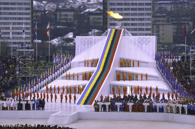 1984 februárjában téli olimpiát rendeztek a jugoszláviai Szarajevóban