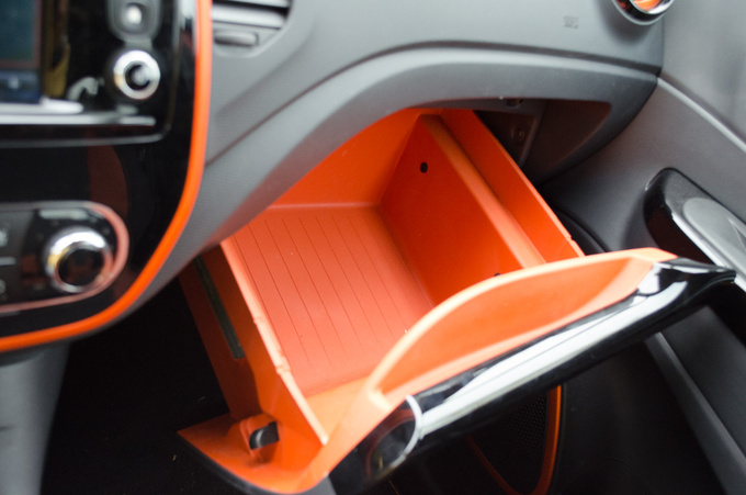 11 litres of storage space. Why can't all glove boxes be like this?