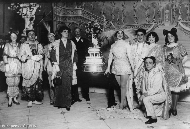 Pantominos bál, 1914-ben