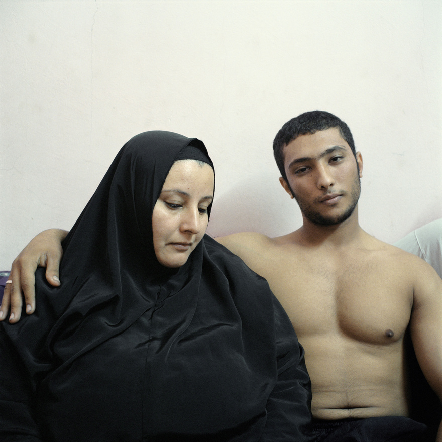 Beállított portré, sorozat - Második hely: Ali, egy fiatal egyiptomi testépítő története