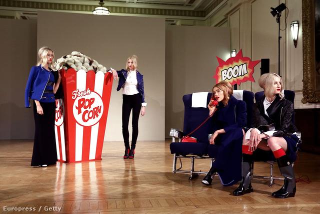 A Fashion Scout jóvoltából mutathatta be a tervezőnő a kollekcióját Londonban.