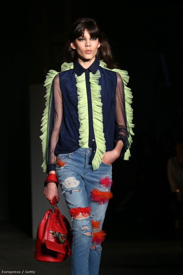 Nemcsak Marc Jacobs szerint lesz trendi a hímzett-szakadt farmer.