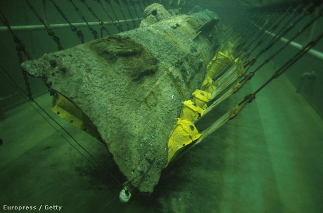 A Hunley-t 1995-ben találták meg és 2000-ben emelték ki a vízből. Ma egy állagmegőrző tartályban tartják
