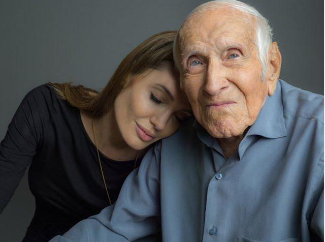 Angelina Jolie és a 97 éves Louis Zamperini
