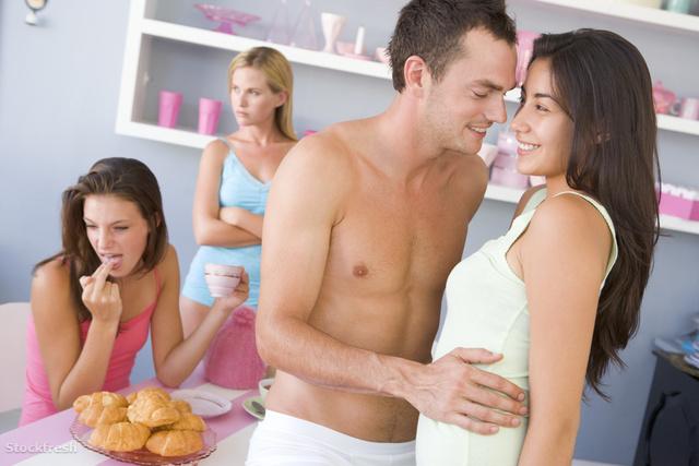 stockfresh 85529 group-of-friends-enjoying-sexy-breakfast sizeM
