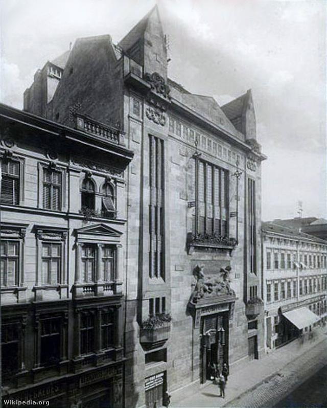 A Hungária fürdő 1910-ben