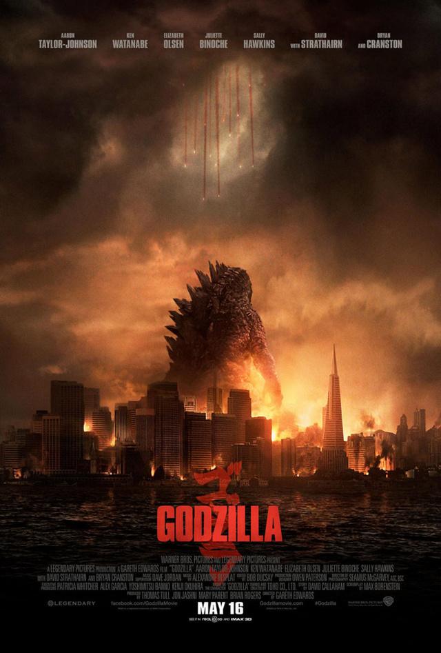 godzilla poster story