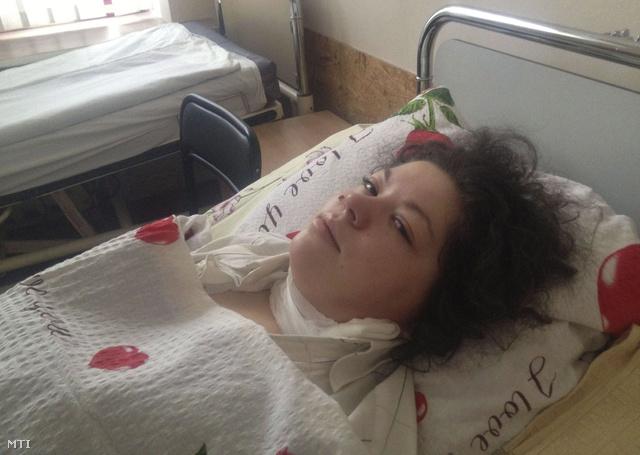 Oleszja Zsukovszkaja jelenleg kórházban fekszik