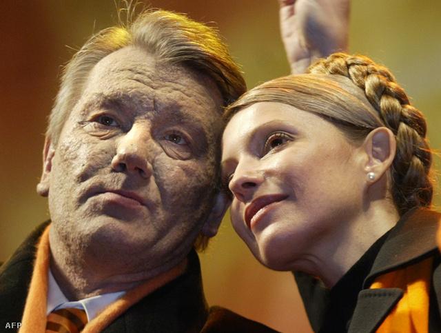 Viktor Juscsenko és Timosenko