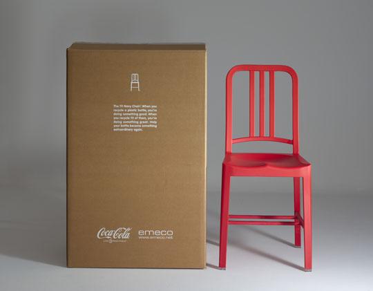 A 'Navy' szék rendszeresen megjelenik design és divatlapokban és televíziós sorozatokban, úgy mint a Szex és New Yorkban vagy a Dr. House-ban.