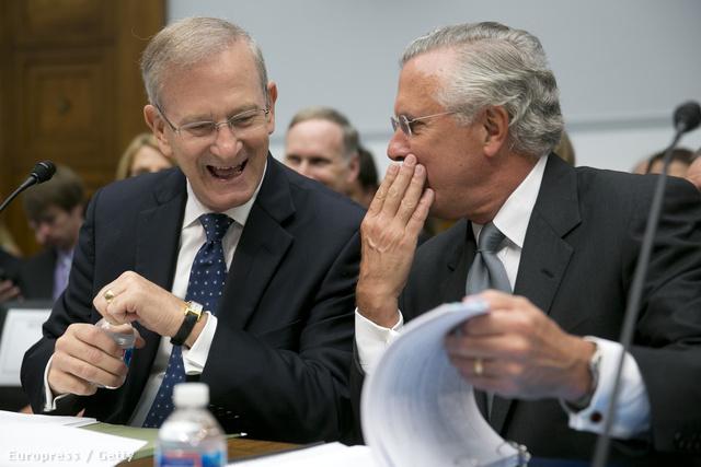 Hoenig és Fisher egy washingtoni meghallgatáson