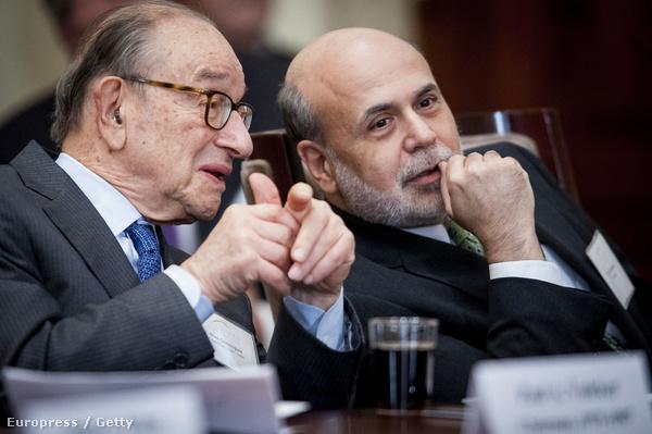 Greenspan és Bernake