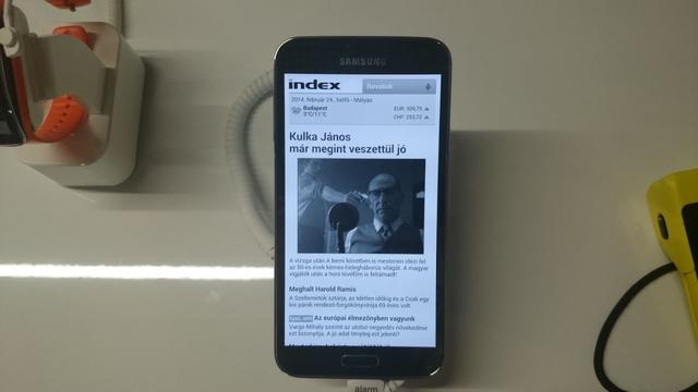 Minden kívánságunkat felülmúlja a Samsung Galaxy S5