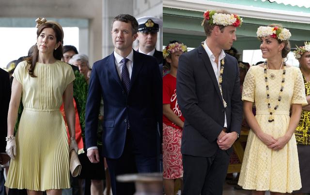 2012. május 10, Szöul: Mária és Frigyes 6 napos látogatást tesznek Dél-Koreában. 2012. szeptember 18, Tuvalu: Katalin és Vilmos távol-keleti gyémántjubileumi turnéját tudja épp le.