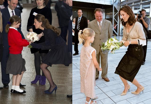 Katalin vs. Mária: ugyanaz a gesztus.