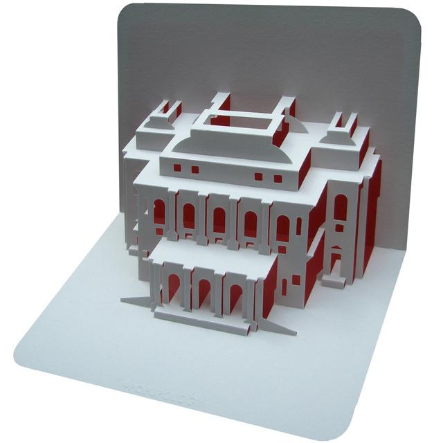 Budapesti Operaház papírból készült másáért 7.99 fontot, 3019 forintot kérnek a művész weboldalán.