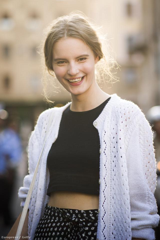 Az 1993-ban született svéd származású modell az egyik legfelkapottabb arc volt a divathéten.