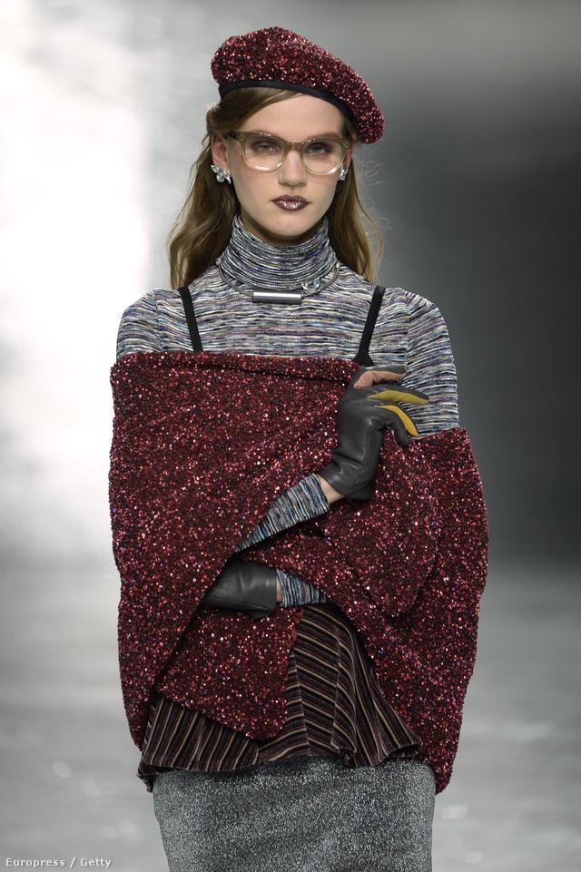 A Litván származású 20 éves modell, Ona Marija építészeti tanulmányait függesztette fel, hogy részt vegyen a divathéten.