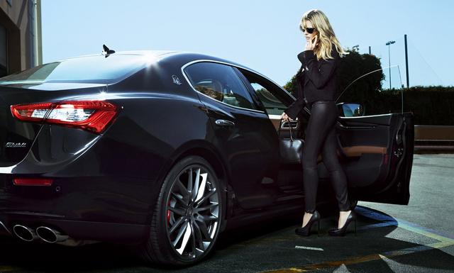 Heidi Klum a Maserati idei reklámcsaja