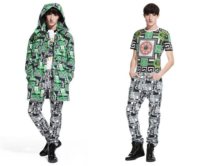 Egy M.I.A. x Versace kabátért több mint 200 ezer forintot kértek el.