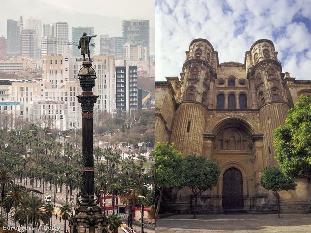 Barcelona vagy Malaga? Ön melyiket választaná?