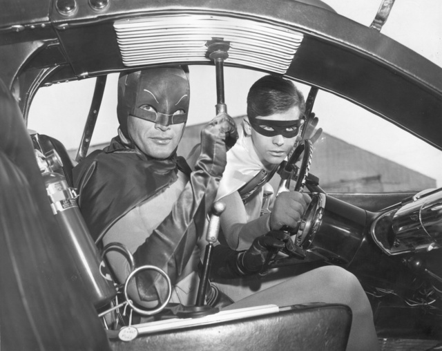 Adam West és Burt Ward
