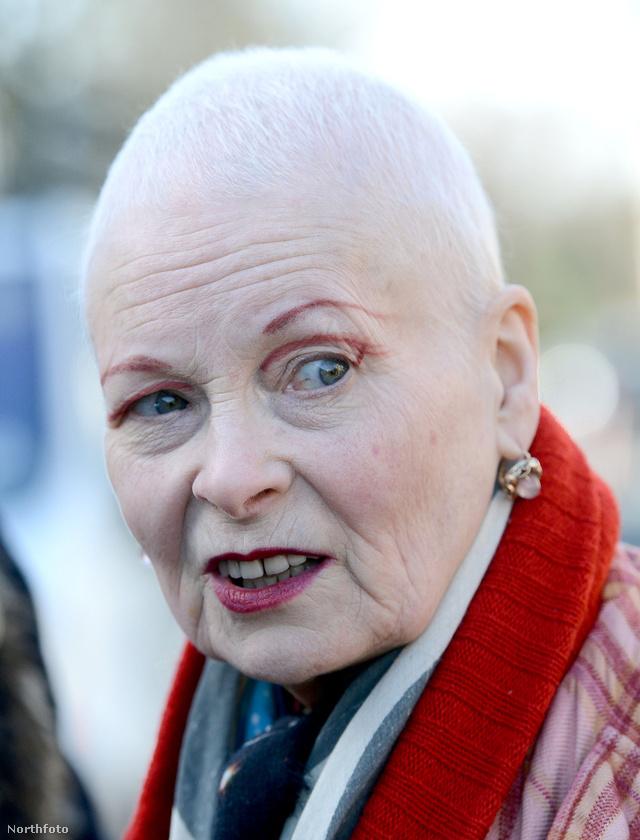 A 72 éves tervező megvált vörös hajától
