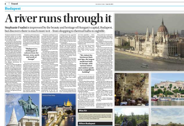 A Sunday Times tavaly nyári cikke