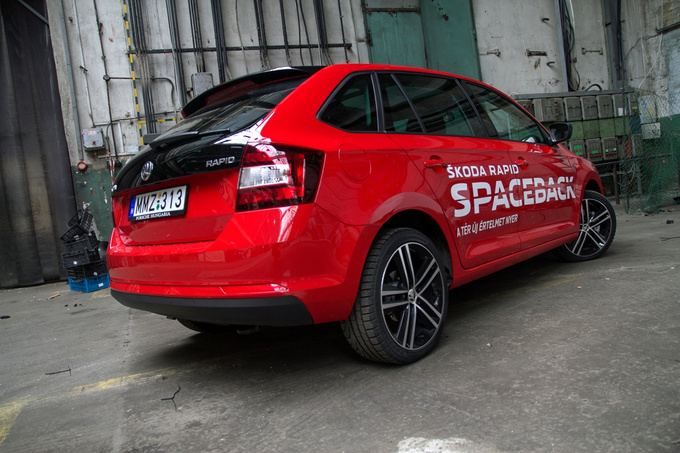 The Spaceback is not a wagon per se. It is more like a hatchback with extended boot capacity