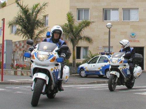 POLICIA LOCAL motorbikes