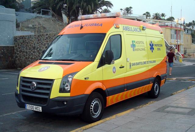 Ambulance Gran Canaria2
