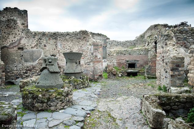 Pompeji és ami maradt belőle