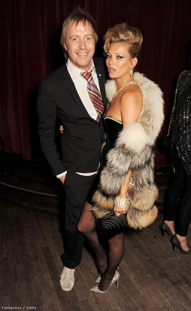 Kate Mosst is gyakran kapják lencsevégre prémes cuccokban.