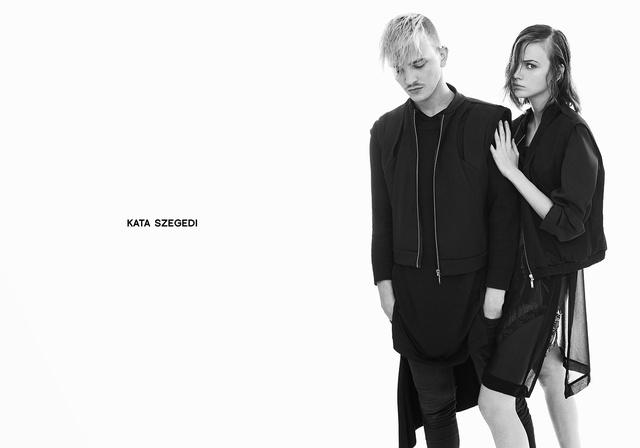 Éder Krisztián szokta készíteni Szegedi ruháinak kampányképeit.