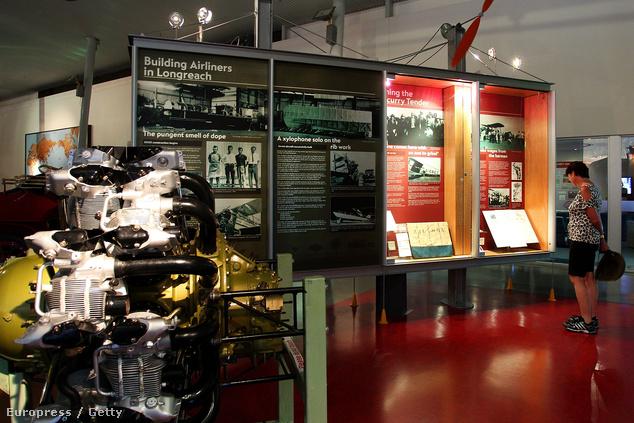 A Queensland-i Qantas Founders Museum még a régi szép idők emlékeit őrzi