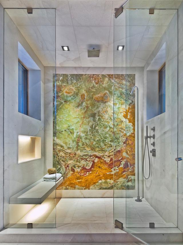 Még mindig menő márvánnyal beborítani a fürdőnket.