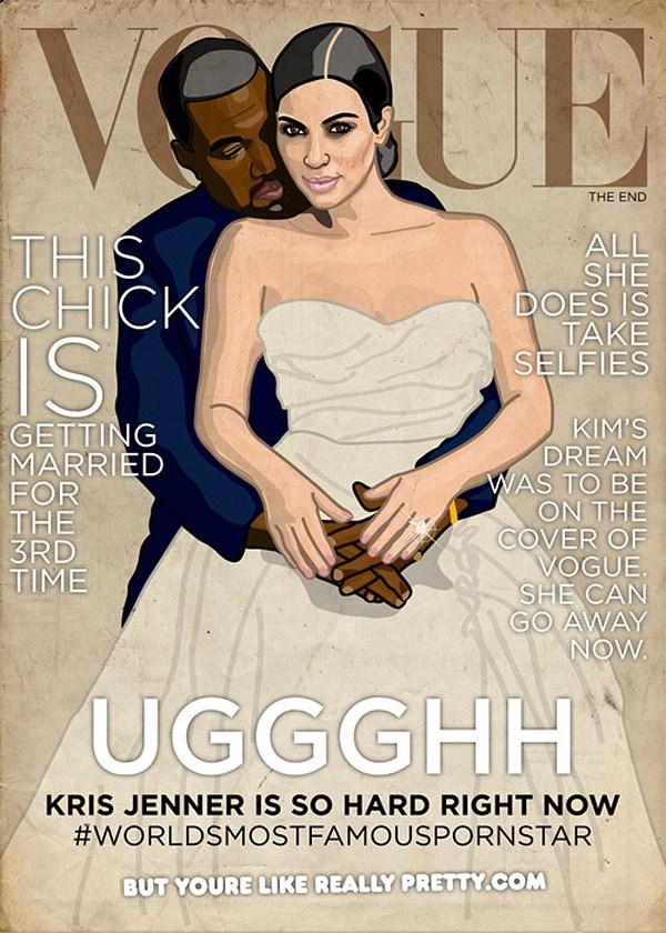 Ez már egy vicces verzió, ami Kardashian házipornójára utal