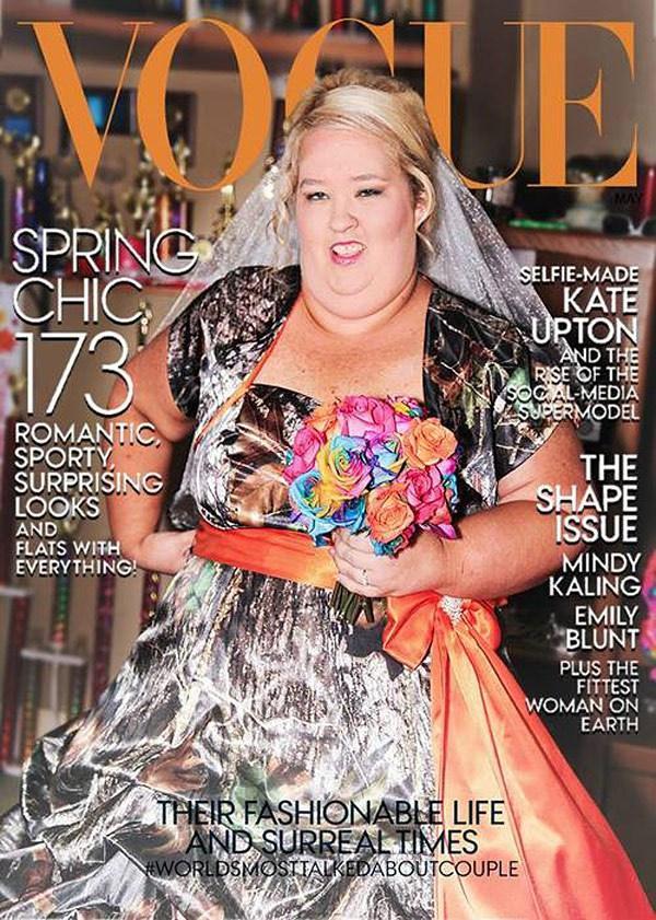 Személyes kedvencünk: Mama June a címlapon