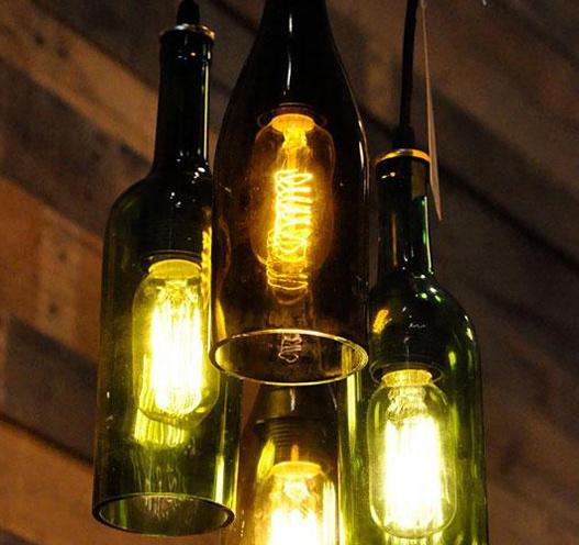 régi üvegből lampa 2